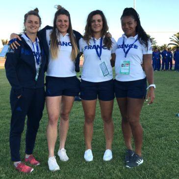 4 toulousaines championnes du monde de Seven
