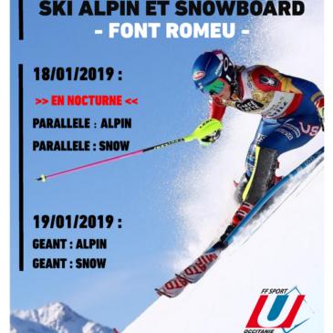 Championnat de Ski Alpin et Snowboard