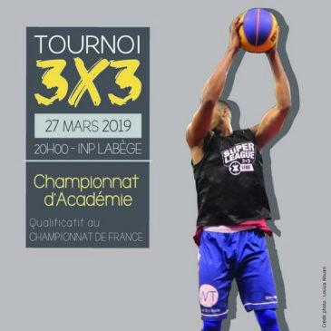 Toulouse : Basket 3×3