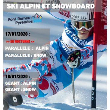 Ski & snowboard : championnat de ligue Occitanie