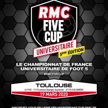 Toulouse : RMC FIVE