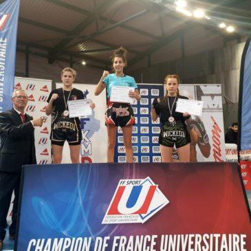 Félicitations Sabrina – CF Kick boxing
