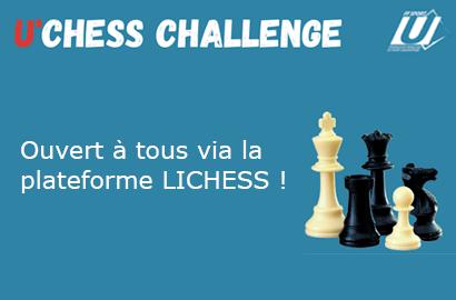 U'CHESS Challenge (les 18 et 25 mars)